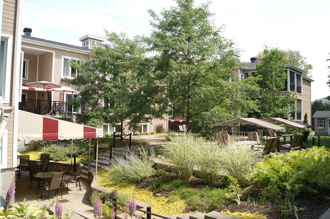 Jardins & veranda, CHSLD L.-B.- Desjardins Saint Sauveur 12